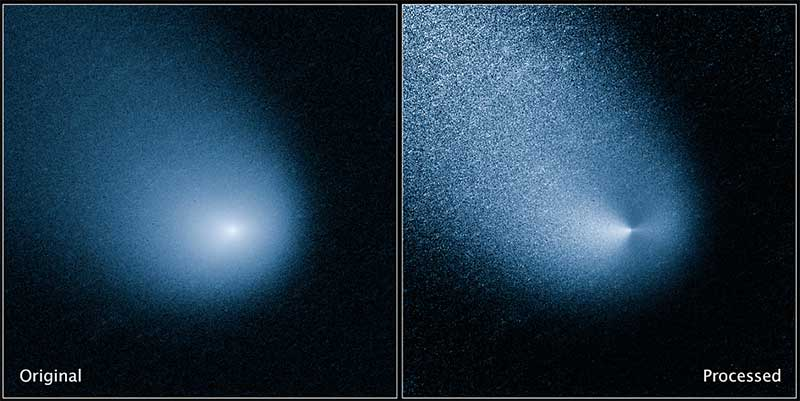 Elhaladt a Mars mellett a Siding Spring üstökös