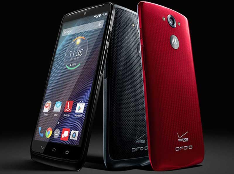 Motorola Droid Turbo mobiltelefon