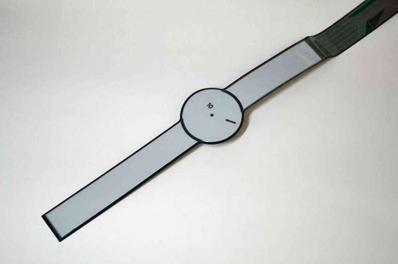 E-papírból készít okosórát a Sony