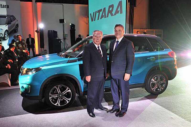 Gyártósorra került az új VITARA