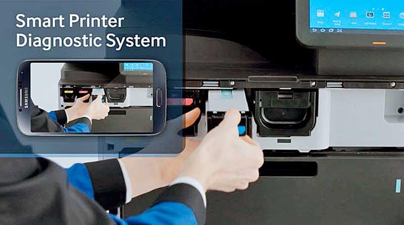 Samsung Smart Nyomtató Diagnosztikai Rendszer