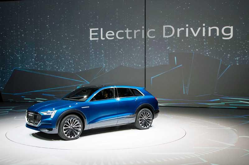 Új Audi hajtásrendszerek bemutatója