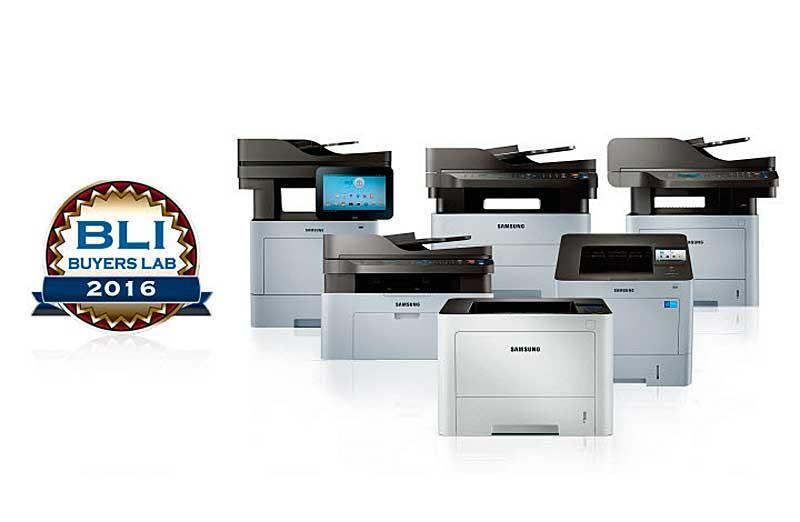 Negyedszer is a Samsung monokróm/multifunkciós nyomtató termékcsaládja nyert