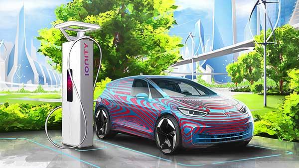 A Volkswagen 36.000 töltőpontot tervez az elektromos gépkocsik részére Európában