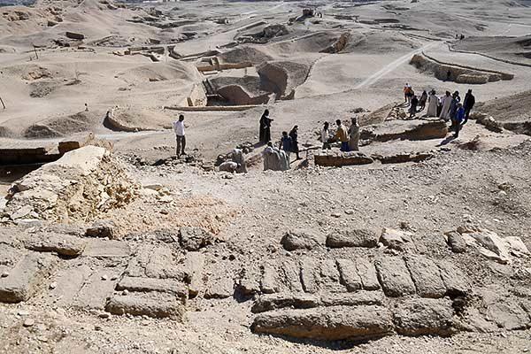 Magyar régészek Egyiptomban