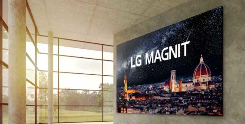 Az LG első microLED megjelenítője új mércét állít a kereskedelmi megjelenítők piacán