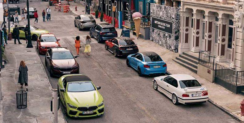 """Új kisfilm hívja """"M Town"""" utcáira a BMW M modellek rajongóit"""