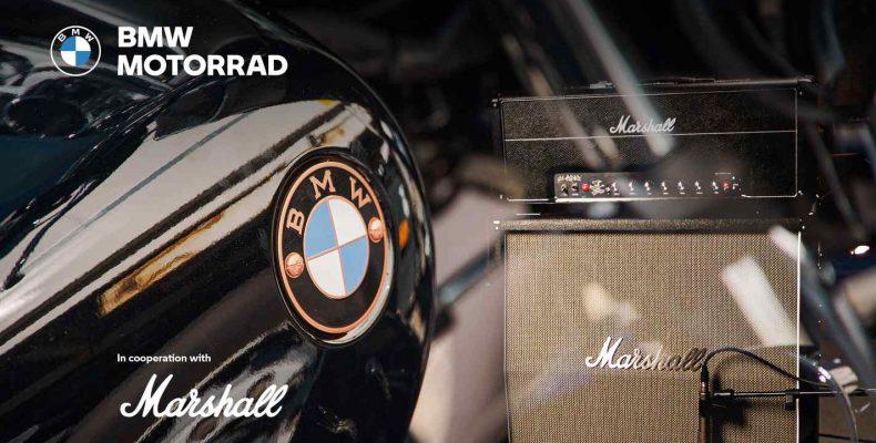 A BMW Motorrad és a Marshall stratégiai partnerséget jelent be