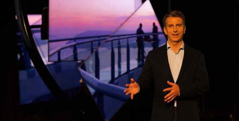Neo QLED TV-ken ismerteti a vizuális szórakoztatás új formáját a Samsung és Michael Murphy lehengerlő műalkotása